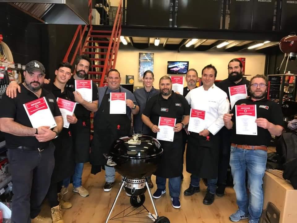 Weber certified grill